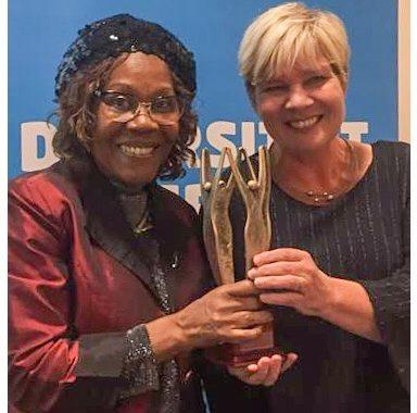 Onze plaatsvervangend voorzitter Guillaumine Nelom wint de FNV Diversiteitsprijs 2018!